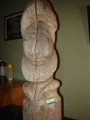 folk art wood carving