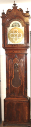 AUTOMATUM GRANDFATHER CLOCK BY ESTIENNE OF CACHENGT AND MANCHESTER. BR