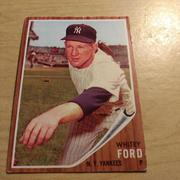 1962 TOPPS #210 WHITEY FORD NEW YORK YANKEES VINTAGE CARD