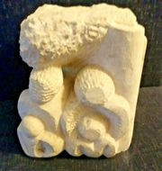 Beautiful Stone carving from 1985 by Artist Patrick Sullivan