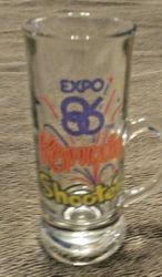 VANCOUVER EXPO 1986 SHOOTER GLASS